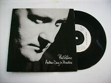 "PHIL COLLINS - ANOTHER DAY IN PARADISE - 7"" VINYL UK PRESS 1989 EXCELLENT"