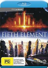 THE FIFTH ELEMENT (Bruce Willis)   -  Blu Ray - Sealed Region B for UK