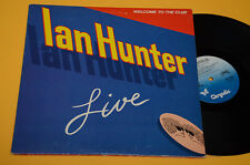 IAN HUNTER 2LP WELCOME TO THE CLUB LIVE ORIG USA 1980 EX ! GATEFOLD