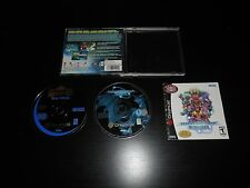 Phantasy Star Online Complete Sega Dreamcast Dream Cast Game CIB Nice w/ Demo