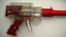 Russian USSR Space Ray Laser Mechanical Gun Pistol Plastic Toy 1980's.Rare!