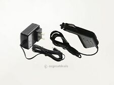 AC Adapter+Car Charger For Zoom H4N R16 Digital Voice Recorde Power Supply Cord