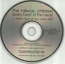 THE RAILWAY CHILDREN Every beat of the Heart PROMO Radio DJ CD single 1990 MINT
