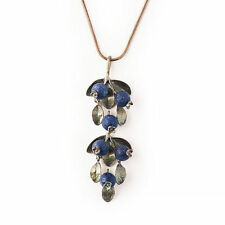 Blueberry Necklace by Michael Michaud for Silver Seasons #7892BZBC
