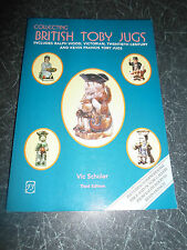 Collecting BRITISH TOBY JUBS By Vic Schuler 1999+Illustrated+Price Guide