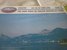 Alpenbahnen Südalpen K 17 Col de Cabre Linie Embrun Veynes südl. Dauphiné