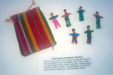 Fair Trade Guatamalan Worry Dolls in Pouch