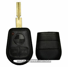 New Remote Key Keyless Fob Replacement Rubber Case Housing Blade Shell Notch