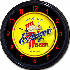 Esslinger Brewing Co Philadelphia PA Beer Tray Wall Clock Waiter Ale Lager 10""