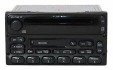 2002 Ford E450 Super Duty Van AM FM Radio Cassette CD Player Part XL2F-18C869-AB