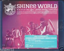 New SHINee THE FIRST JAPAN ARENA TOUR SHINee WORLD 2012 2 Blu-ray F/S TOXF-5771