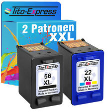 HP 56 & 22 XL Cartuccia per Officejet 5610v hp22