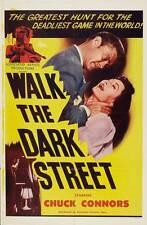 WALK THE DARK STREET Movie POSTER 27x40 Jing An Li Feng Changwei Gu Liu Guonan