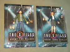 The X Files Agent Fox Mulder Agent Dana Scully Figure Diamond Select 2016, NEW