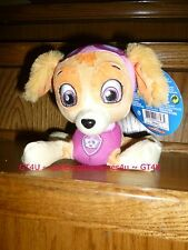 "SKYE Paw Patrol Plush Pup Pals Nickolodean Girl Puppy Dog 8"" Stuffed Pink Sky"
