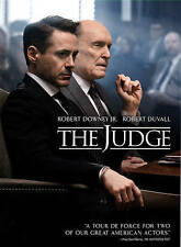 THE JUDGE ROBERT DUVALL ROBERT DOWNEY JR DVD
