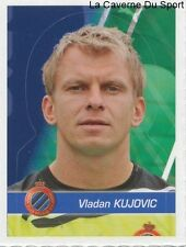 060 VLADAN KUJOVIC SERBIA CLUB BRUGGE.KV STICKER FOOTBALL 2012 PANINI