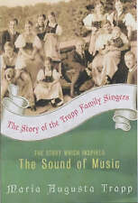 The Story of the Trapp Family Singers, Acceptable, Maria Augusta Trapp, Book