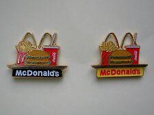 McDonalds Menue - Pins  ,   2 Pins.