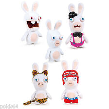 Les Lapins Crétins lot 5 peluches Show-Time peluche 33 cm rabbids soft plush 636