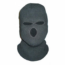 BALACLAVA- BLACK - 3 HOLE - NEW - ONE SIZE - KIDS - FANCY DRESS - COD - AIRSOFT