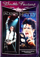 Michael Jackson: Life of a Superstar/ History(DVD,2010) NEW