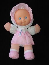 "Fisher Price Puffalump Doll Rattle Pink 11"" Vintage 1994"