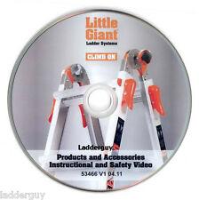 Instructional & Safety Video DVD - Little Giant Ladder