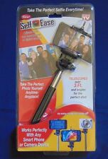 Self Ease Selfie Stick Extends 3 Ft Works with Smart Phone/Camera As Seen on TV