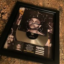 The Weeknd Beauty Behind The Madness Platinum Record Disc Album Music Award RIAA