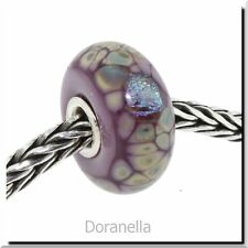 Authentic Trollbeads Glass 62019 Purple Flower Mosaic :1 27% OFF