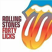 The Rolling Stones - Forty Licks - UK CD album 2002