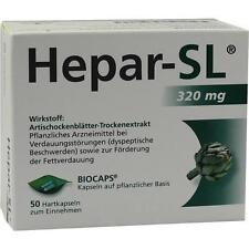 HEPAR SL 320 mg Hartkapseln 50 St