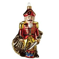 Midwest-CBK Nutcracker King Glass Christmas Ornament Midwest mw105497 OOP!Ballet