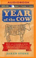 Year of the Cow by Jared Stone (2015, MP3 CD, Unabridged)