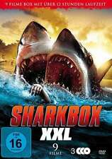 9 Hai Horror Filme SHARKBOX XXL Ghost Shark SHARKNADO Jurassic DVD Box Edition