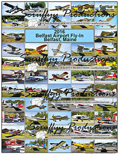 BELFAST AIRPORT FLY IN 2016 AIRCRAFT POSTER UNIQUE AVIATION EVENT QUALITY PHOTS