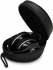 Hard Carrying Case Headphones Bag for Beats Solo 2/HD & Monster DNA (Black)
