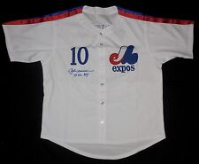 ANDRE DAWSON AUTOGRAPHED CUSTOM JERSEY (MONTREAL EXPOS) - JSA COA!