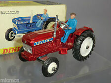 """DINKY TOYS MODEL No 308  LEYLAND TRACTOR    """" RARE RED METALLIC VERSION"""""""
