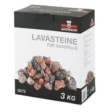 Lava Rocks Pack 3kg Replacement Stones Gas Barbecues Chef Grill BBQ Flavour