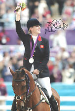 ZARA PHILLIPS Signed 12x8 Photo OLYMPIC EVENTING COA
