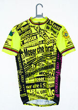 "MENS SIZE MEDIUM 38-40"" CHEST FRANCESCO MOSER SHIMANO UCI CYCLING JERSEY EROICA"