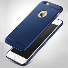 "For ""Apple iPhone 6G/6S"" Candy Slim Soft Silicone Matte Back Case Cover - Blue"