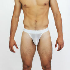 NEW men's HOT McKillop Jagger mesh thong | WHITE | SMALL | FREE SHIPPING