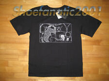Original Fake KAWS Double Up Embroidered Shirt Chomper XL 4 Black Companion