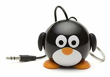 Kitsound Mini Altavoz Portátil Pingüino amigo Para Iphone, Ipad, Tablet -