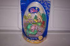 Littlest Pet Shop Spring or Easter Egg Set dog NIB #602,603,604
