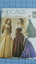 UNCUT MCCALL'S 3315 18-22 PATTERN EVENING GOWN DRESS MEDIEVAL GOTHIC COSTUME