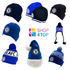 CHELSEA FC OFFICIAL FOOTBALL SOCCER CLUB SKI KNITTED HAT CAP WINTER BEANIE NEW